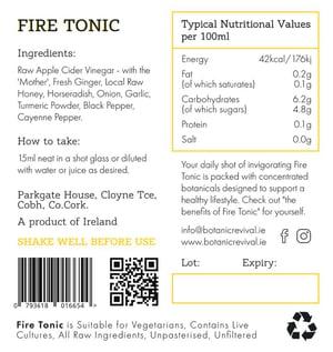 Image of Fire Tonic x 4  Free Shipping !!!