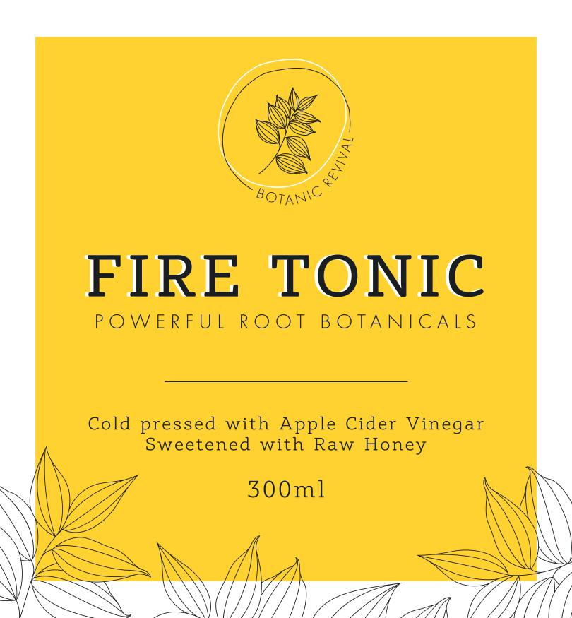 Image of Fire Tonic x 4  Free Shipping !!!