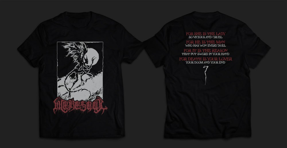 Image of WERESOUL - black men's t-shirt