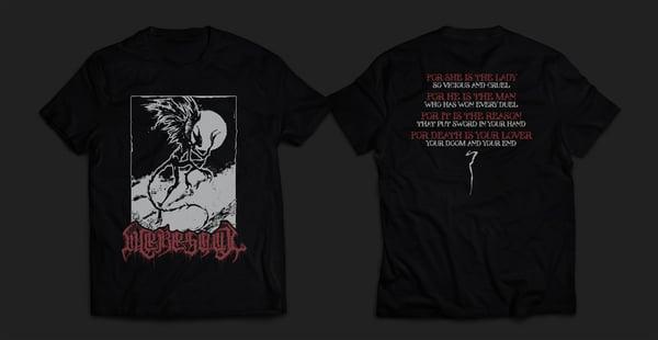 Image of WERESOUL - black men's t-shirt