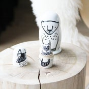 Image of Wee Gallery Forest Nesting Dolls
