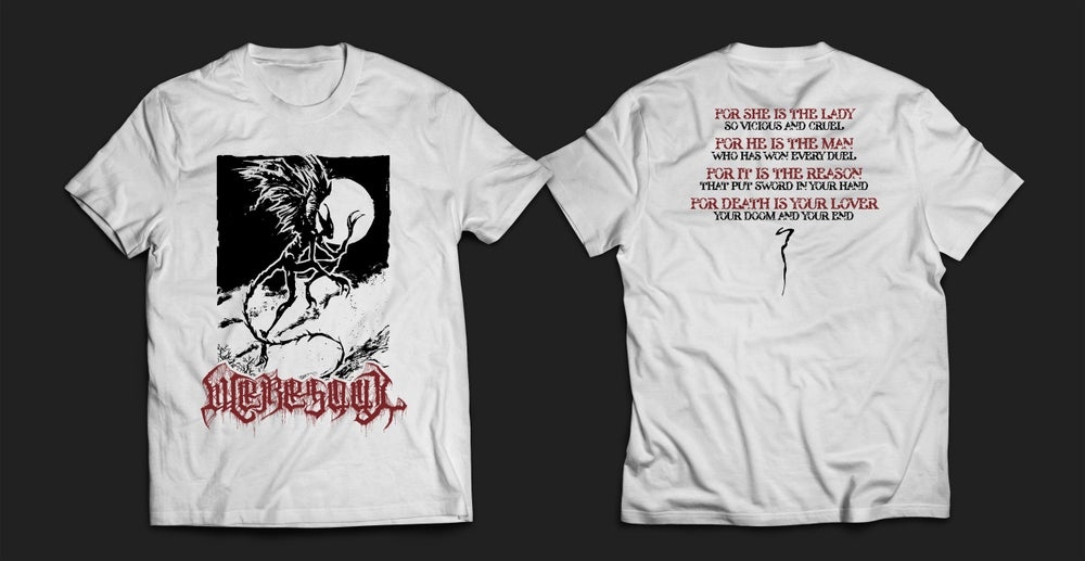 Image of WERESOUL - white men's t-shirt