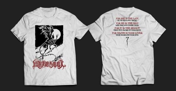 Image of WERESOUL - white men's t-shirt