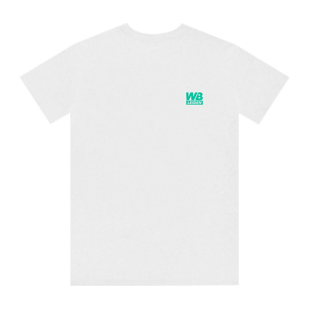 Wibar 90's Rave t-shirt (turkoois)