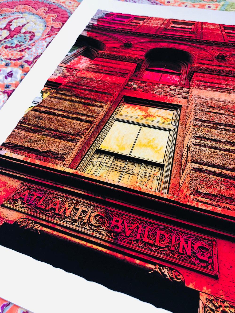 "Atlantic Building Giclée Art Print - 11"" x 14"""