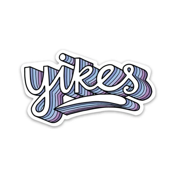 Image of Yikes Vinyl Sticker
