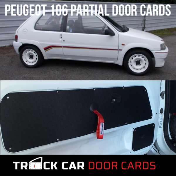 Image of Peugeot 106 - Partial Track Car Door Cards