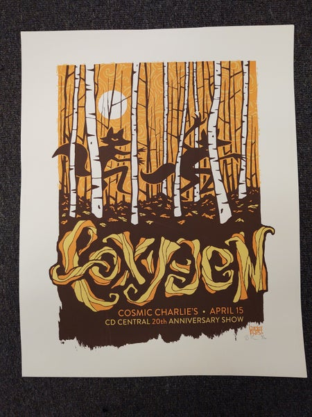 Image of Foxygen Screenprint Poster / CD Central 20th