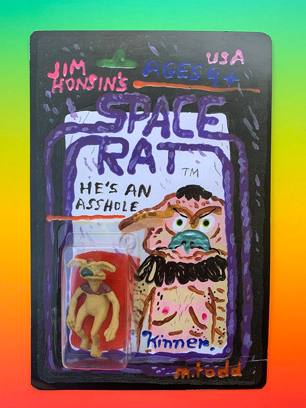 (Mark Todd) Space Rat