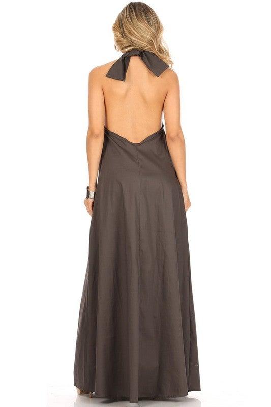 Image of Gray Back Out Maxi (Online Only) Pre-order Available 6/30/20