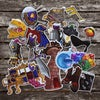 Deluxe Mimic Sticker Set - 17 stickers, 2 sheets.