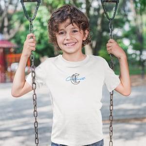 KIDS · SIGNATURE OVERLAY T-SHIRT