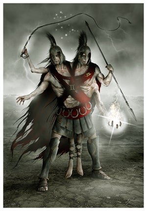 Image of HORRORSCOPES - The Dark Zodiac: GEMINI