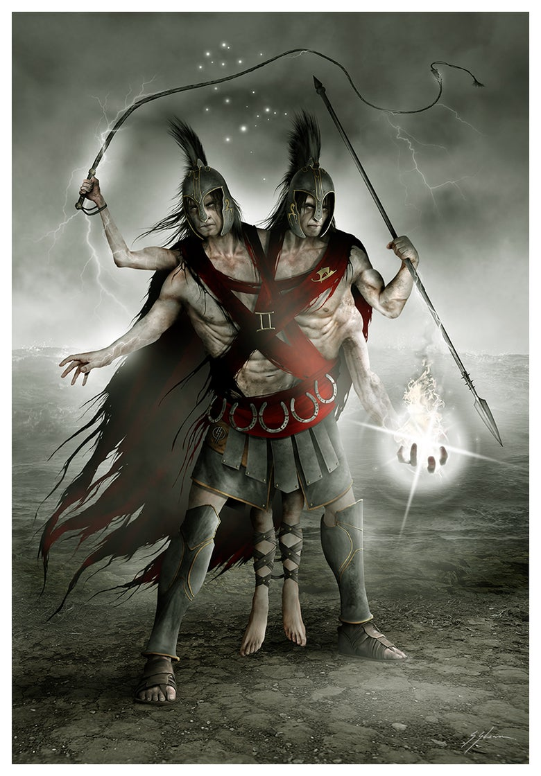 Image of HORRORSCOPES - The Dark Zodiac: GEMINI