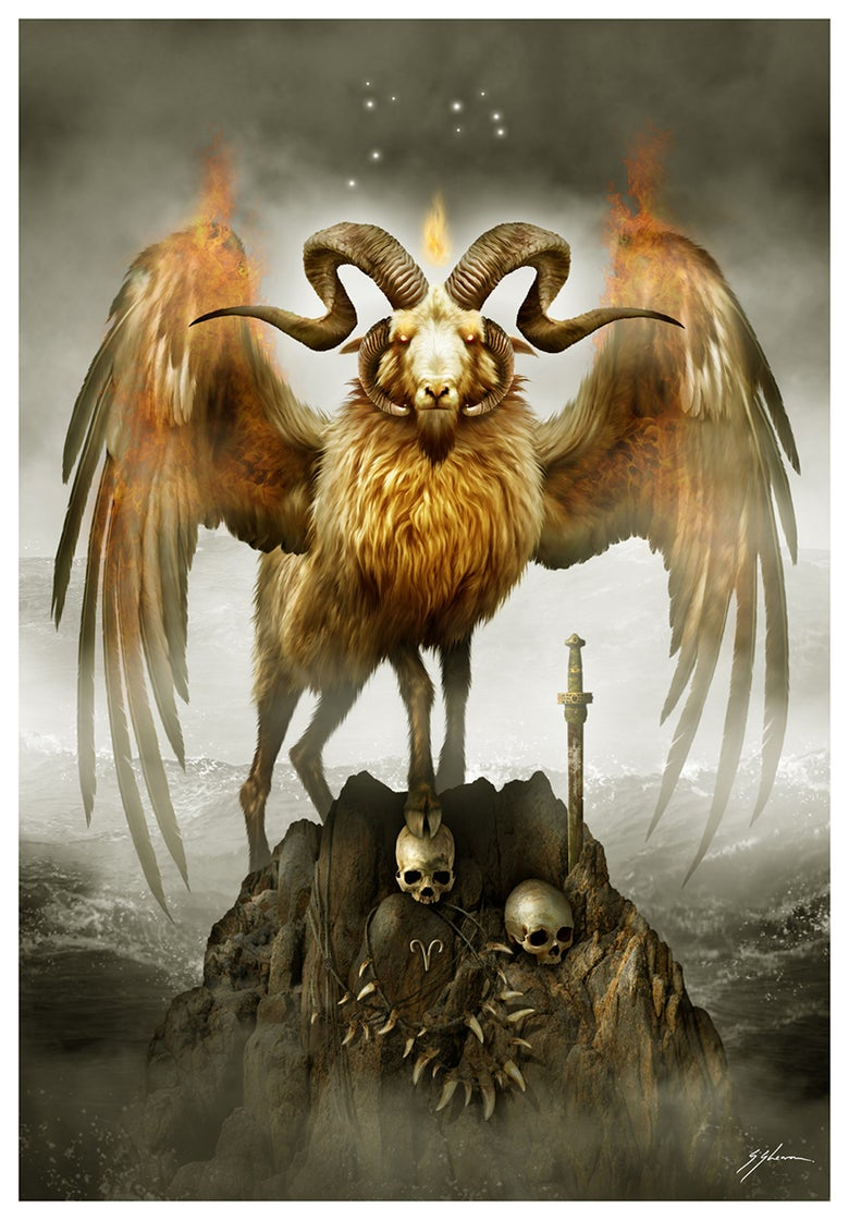 Image of HORRORSCOPES - The Dark Zodiac: ARIES