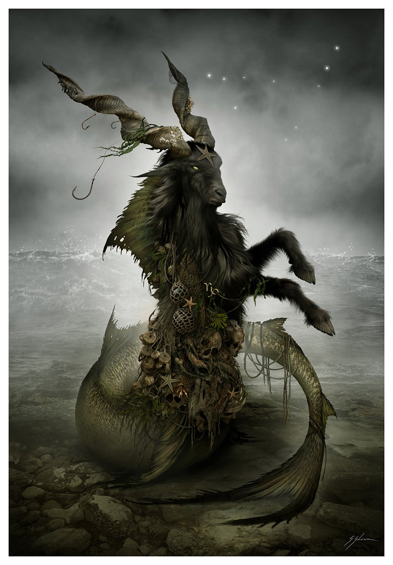 Image of HORRORSCOPES - The Dark Zodiac: CAPRICORN
