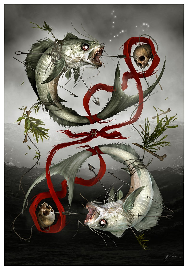 Image of HORRORSCOPES - The Dark Zodiac: PISCES