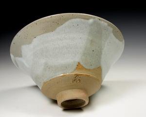 Dolomite white matt bowl (e022)
