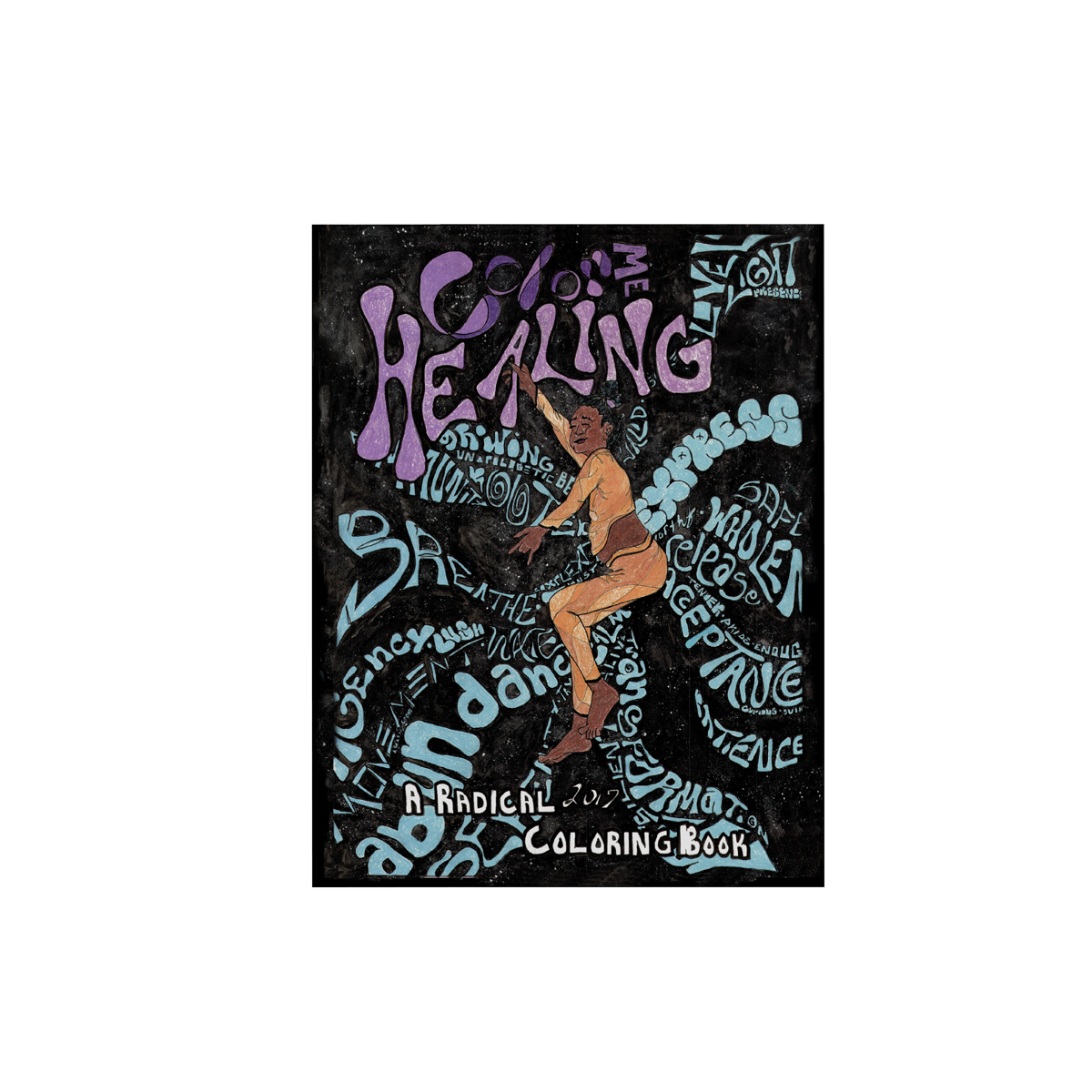 Image of Color Me Healing: A Radical Coloring Book (PDF ONLY)