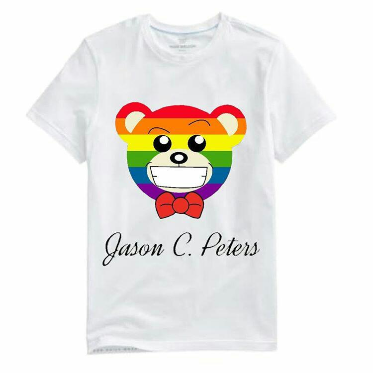 Image of White Equality Bear Tee