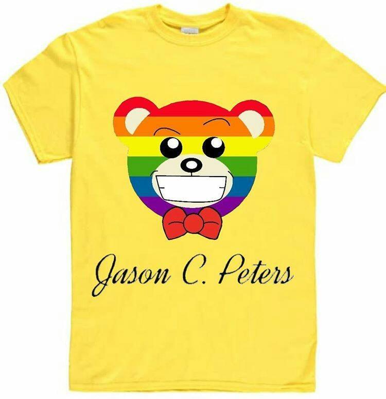 Image of Yellow Equality Bear Tee