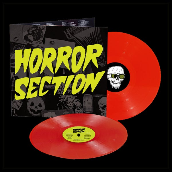 "Image of PRE ORDER 2xLP: Horror Section ""Collection I & II"""