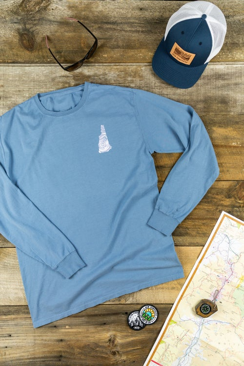Image of NH Homegrown- Washed Longsleeve T-shirt
