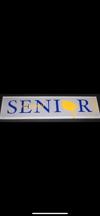 Senior Plaque