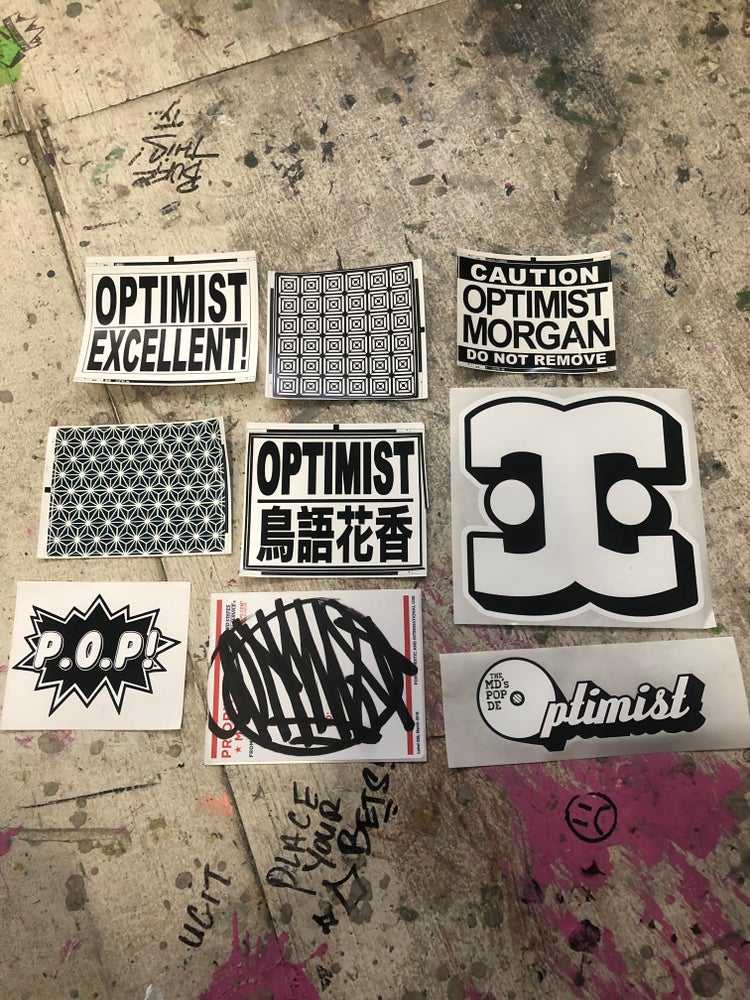 Image of Deluxe sticker pack
