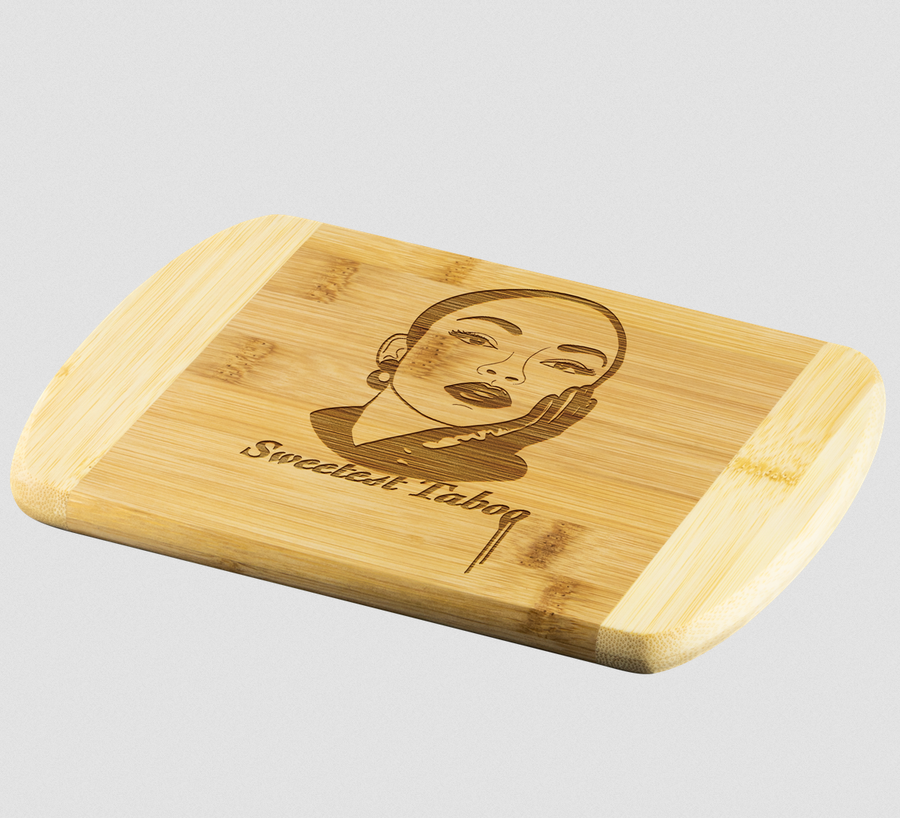 Image of Sweetest Taboo Custom Wood Cutting Board