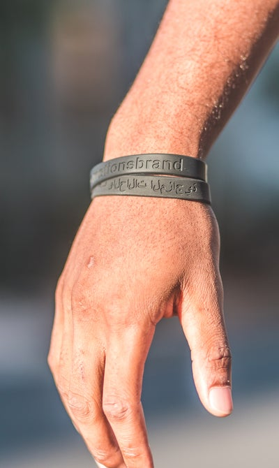 Image of Engraved Wrist Bands