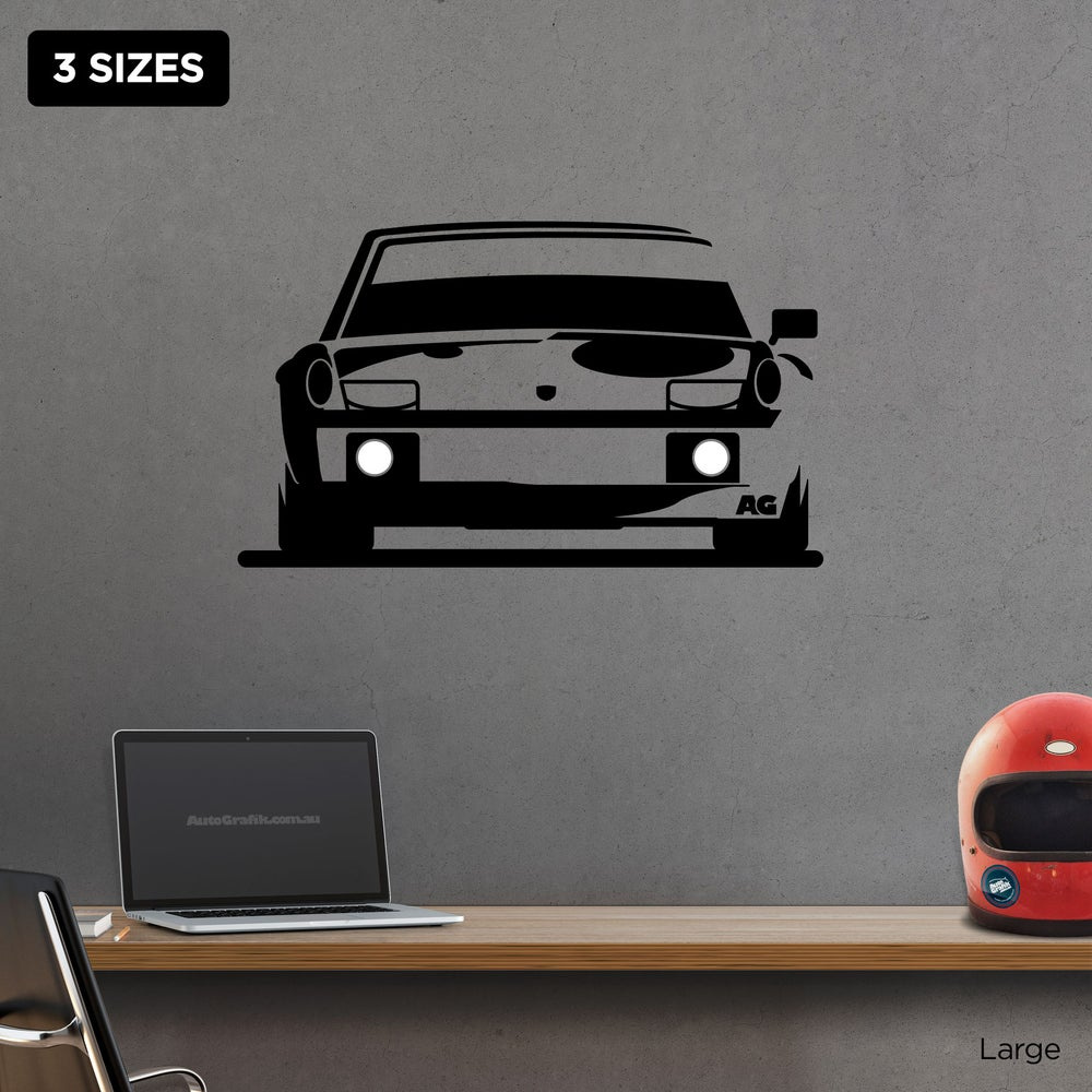 Image of 1970's 914-6 GT TRIBUTE WALL DECAL