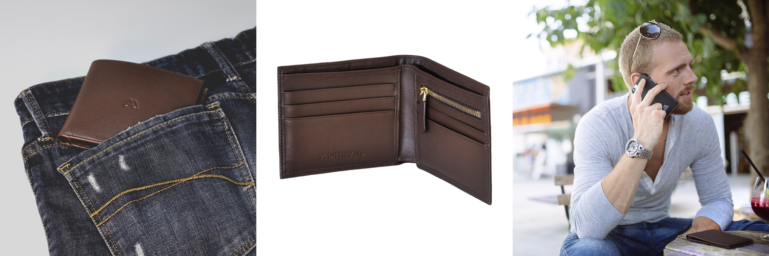 Image of Brown Man Wallet