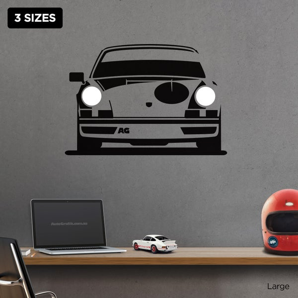 Image of 1973 RS 2.7 TRIBUTE WALL DECAL