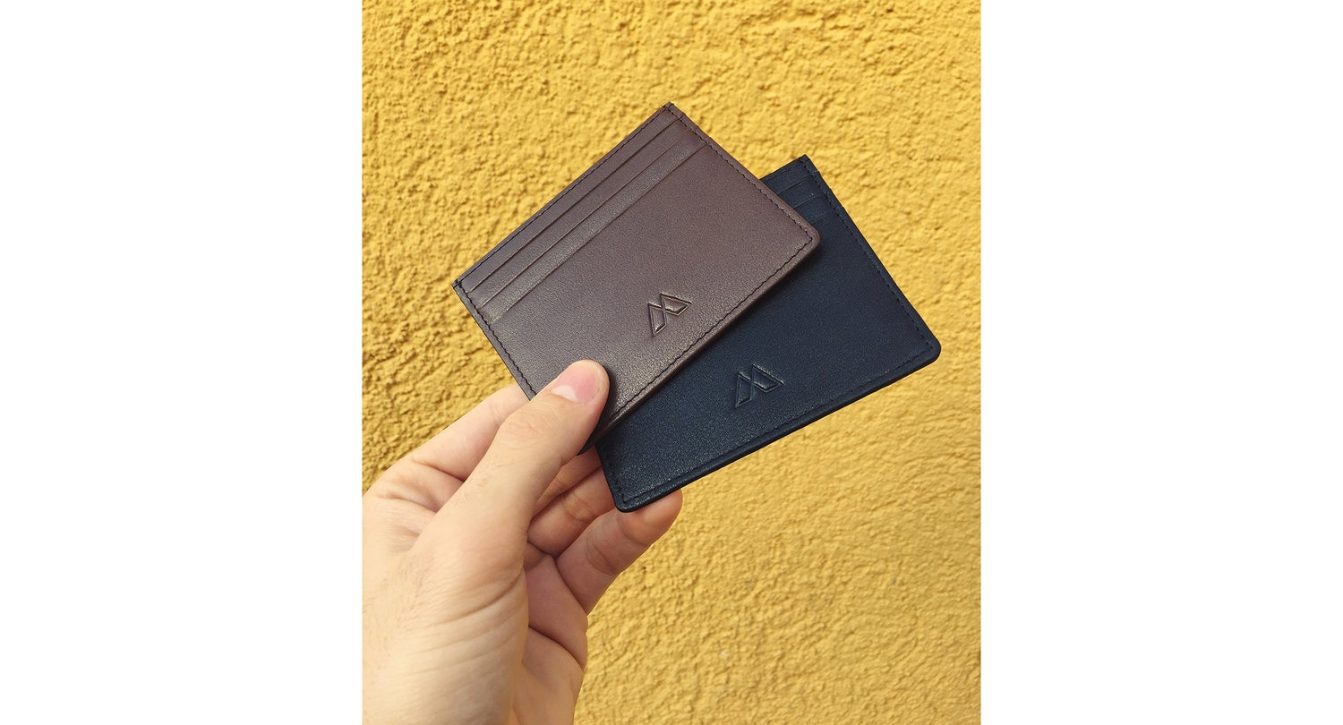 Image of Black Card Holder