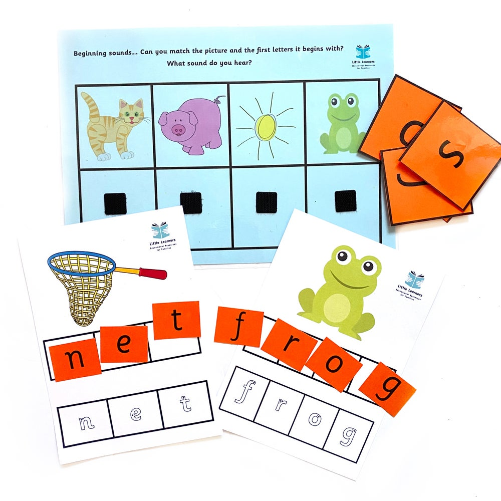 Image of Little Learners Beginning Readers Pack