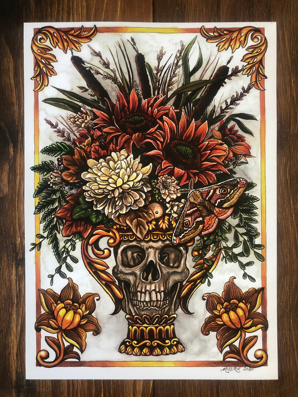 Harvest Crown ~ A3 Print