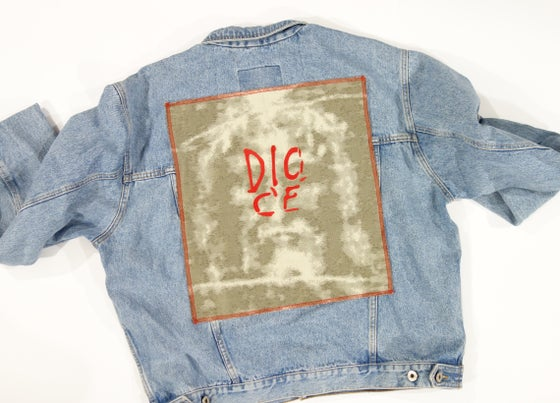 Image of Dio C'è Denim Custom Jacket