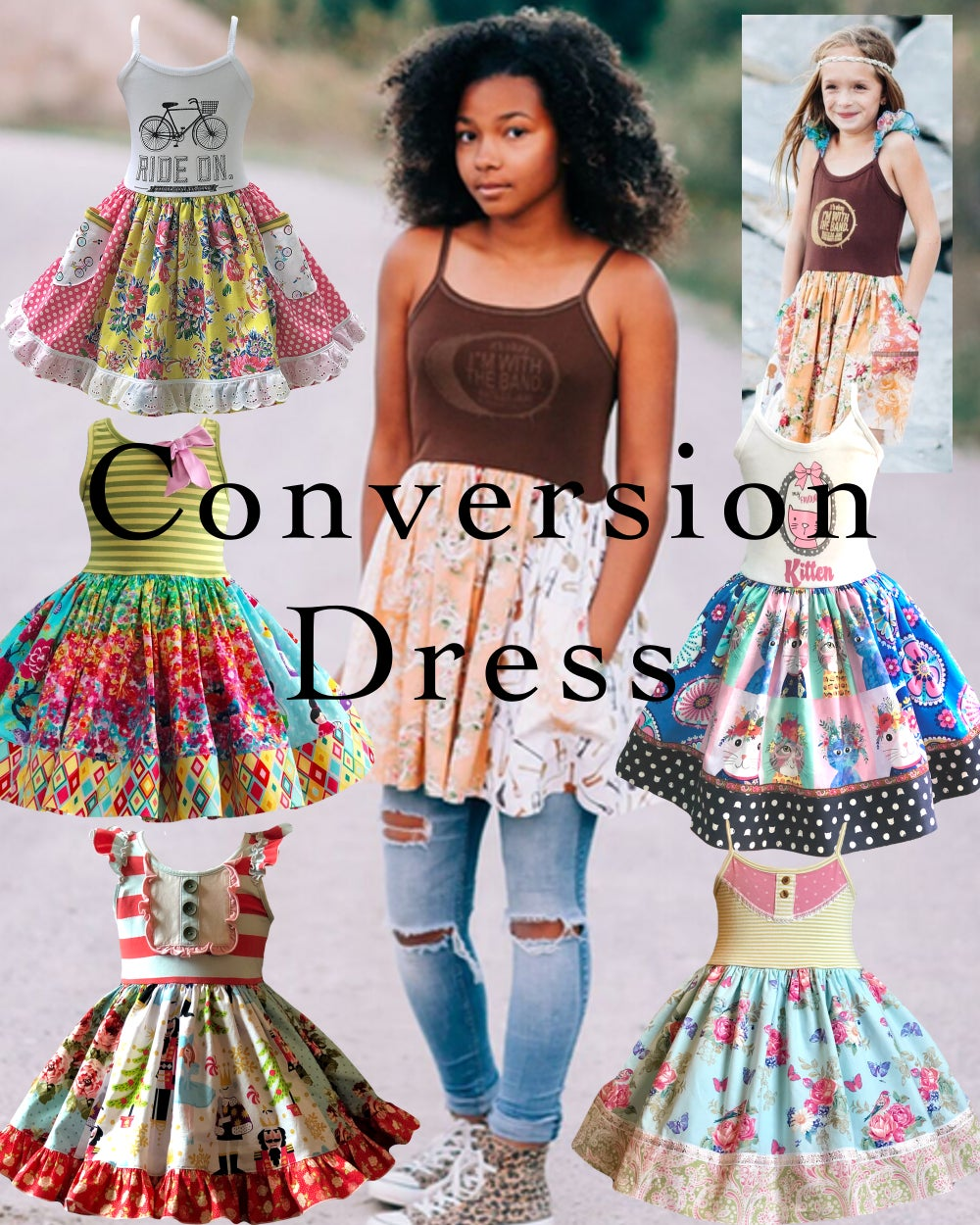 Image of Custom OOAK (one of a kind) Conversion Dress