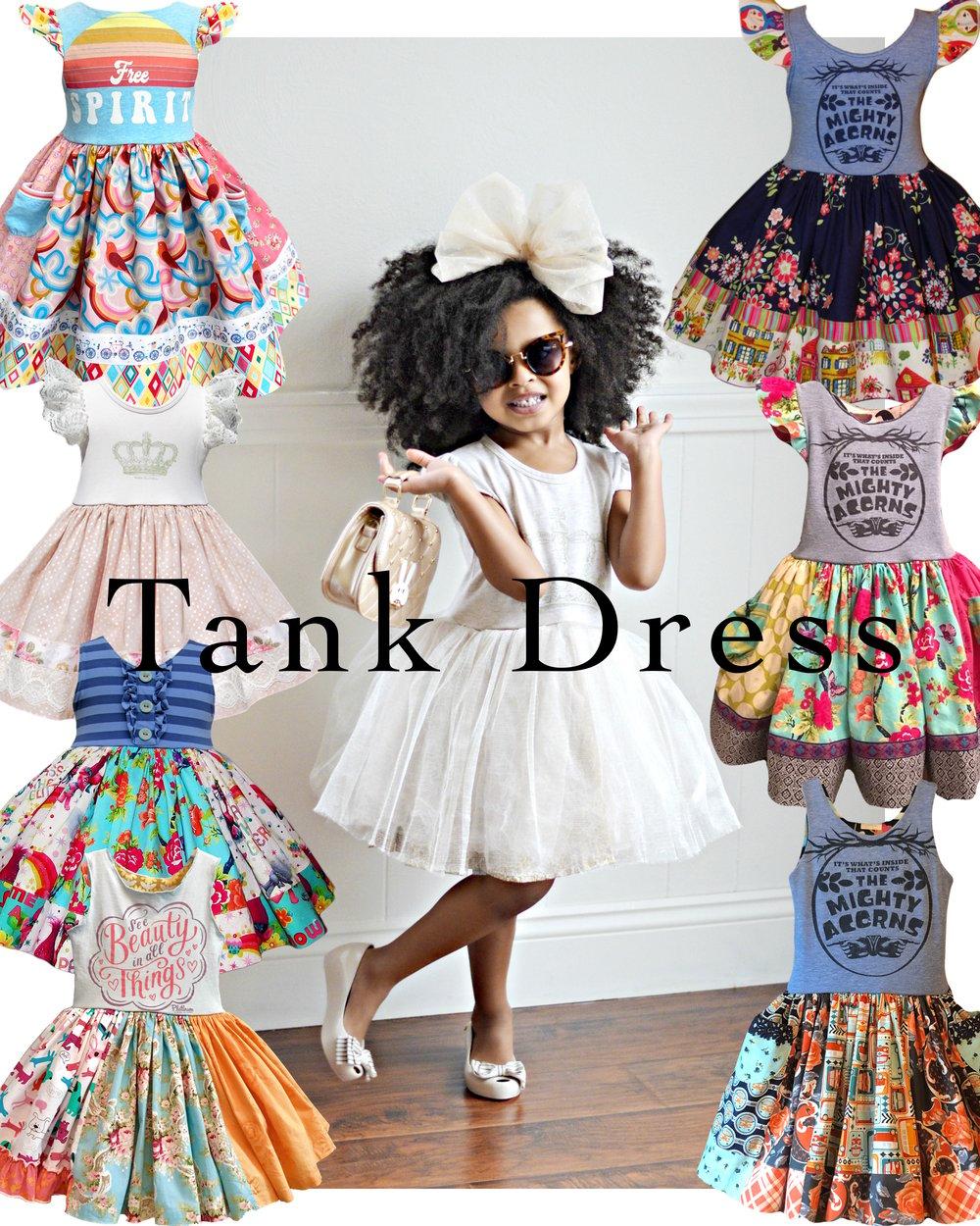 Image of Custom OOAK (one of a kind)Tank Dress
