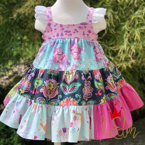 Image of Custom OOAK (one of a kind) Azalea Dress