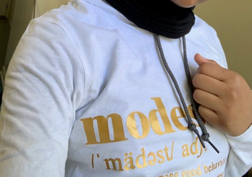 Image of MODEST Tee