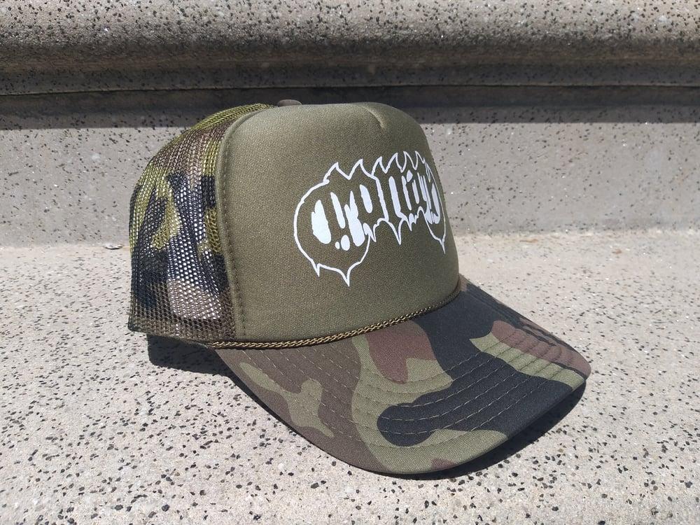 Image of Conan Logo Camo Trucker Cap