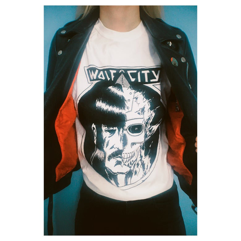 Image of WOLF CITY T-Shirt (White)