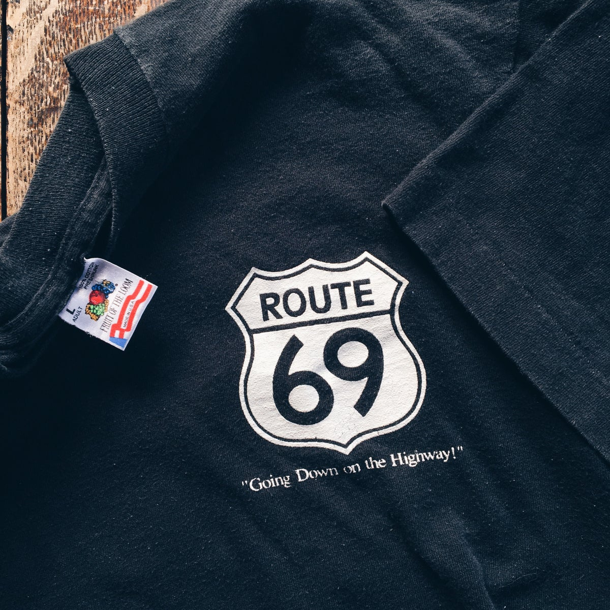 Image of Original 1993 Route 69 Tee.