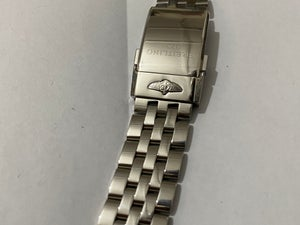 Image of Breitling 20mm/22mm/24mm Stainless Steel Deployment Strap,Push Button Buckle.
