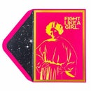 Image 2 of Papyrus Star Wars Fight Like Girl Greeting Card