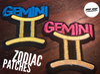 Zodiac Symbol Patch