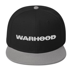 Image of WARHOOD TEXT Snapback Hat