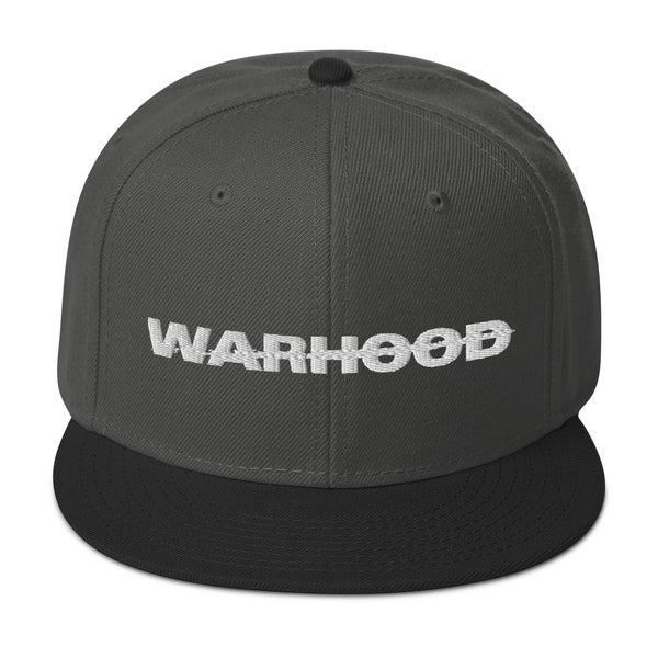 Image of WARHOOD TEXT Snapback Hat